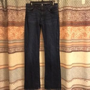 7 For All Mankind Jeans - 7 for all mankind indigo bootcut jeans Sz 31